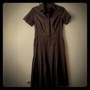 Tahari Brown shirt dresses